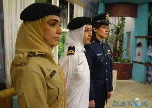 Female Officers Pakistan Army