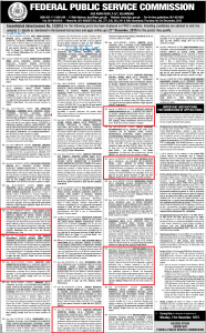 FPSC Ministry of Defence Jobs 2016 Latest Advertisement