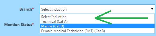 Pak Navy online registration forms