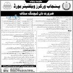 Punjab Workers Welfare Board Job Opportunities 2016