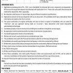 Karachi Police Jobs 2016 by NTS Constable