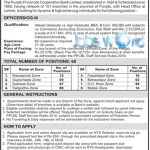 The Punjab Provincial Co-Operative Bank Jobs 2016 OG-III Officers