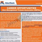 allied-bank-jobs-2016-risk-management-trainee-associates